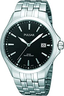 Pulsar Men PS9089X Year-Round Analog Quartz Silver Watch