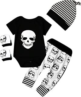 skull and crossbones baby clothes