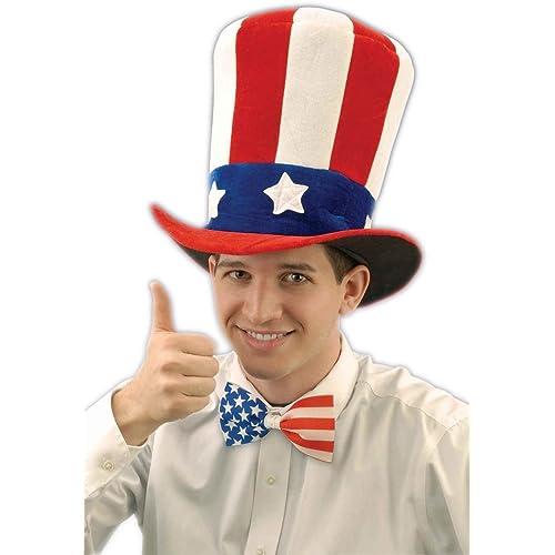 9c9d01975a47 Uncle Sam Hat: Amazon.co.uk