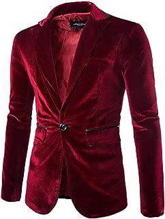 Men's Stylish Peaked Lapel Blazer Jacket