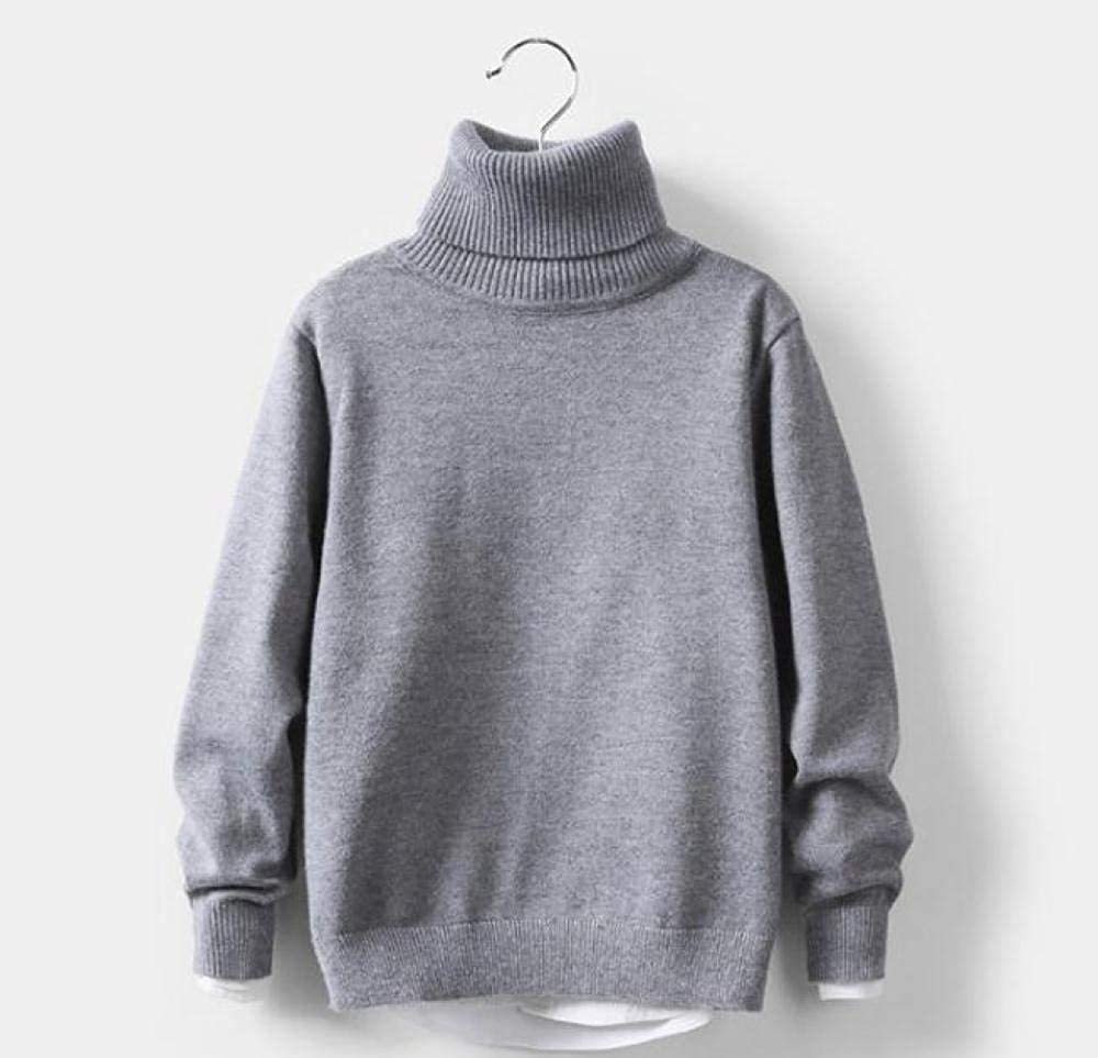 Baby Jacken Jungenbaby M/ädchen Winter Rollkragenpullover Colthes Herbst Jungen Kinder Kleidung Pullover Gestrickt Solide Kinder Pullover