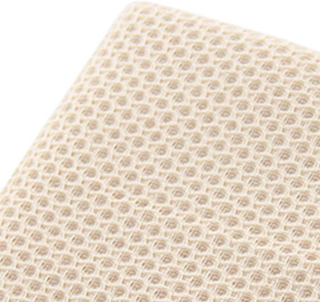Marrone Fangfeen Asciugano di Cotone casa Cucina Bagno igienici Faccia asciugano Viso Mani Lavaggio Waffle Design Asciugano 72x32cm
