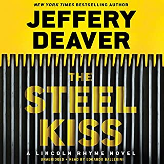 The Steel Kiss audiobook cover art