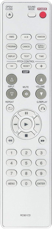 ALLIMITY RC001CD Reemplazo de Mandos a Distancia por Marantz CD Player CD5001 CD5400 CD6002 CD5001/N1G CD5400/N1B CD5400/N1G CD5400/T1B 00MZK27CW0010