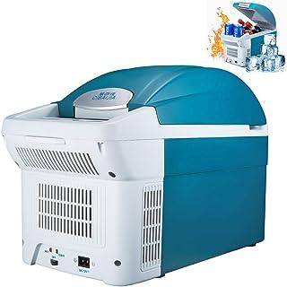 8.5Lオートミニ冷蔵庫車ホームDaul-使用ポータブル冷蔵庫アイスボックス冷凍庫クーラーヒーター急速冷凍大容量