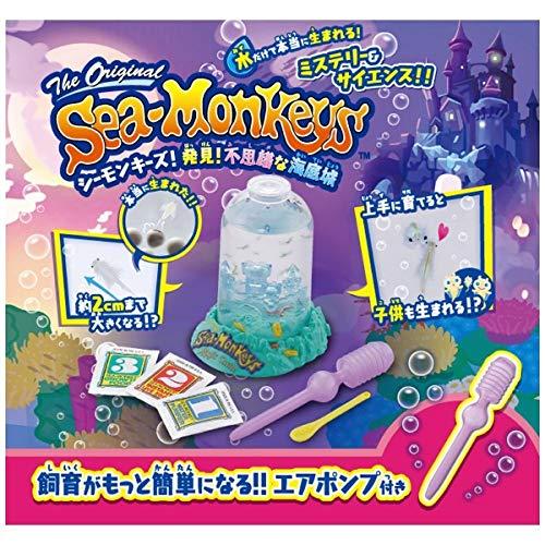 シーモンキーズ!発見!不思議な海底城