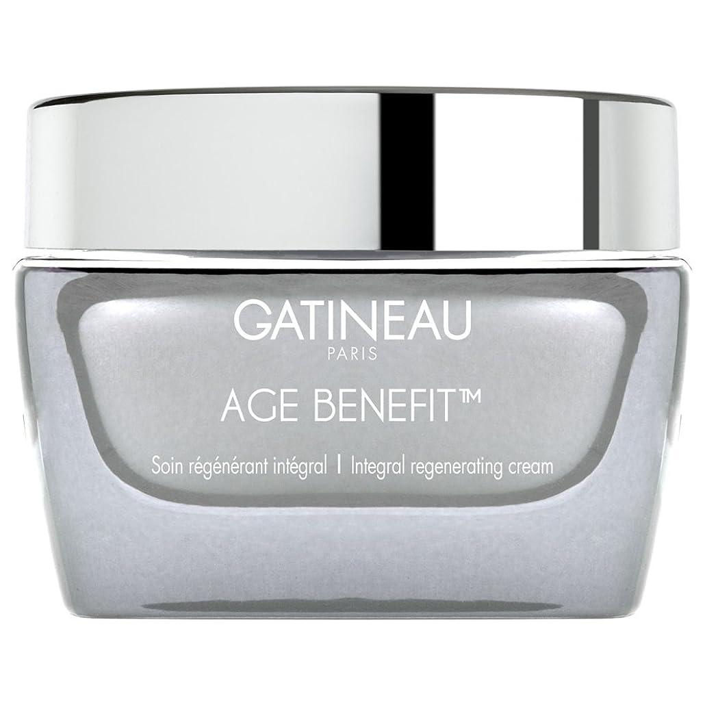ペット借りているアンテナクリームを再生ガティノー年齢給付、50ミリリットル (Gatineau) (x2) - Gatineau Age Benefit Regenerating Cream, 50ml (Pack of 2) [並行輸入品]