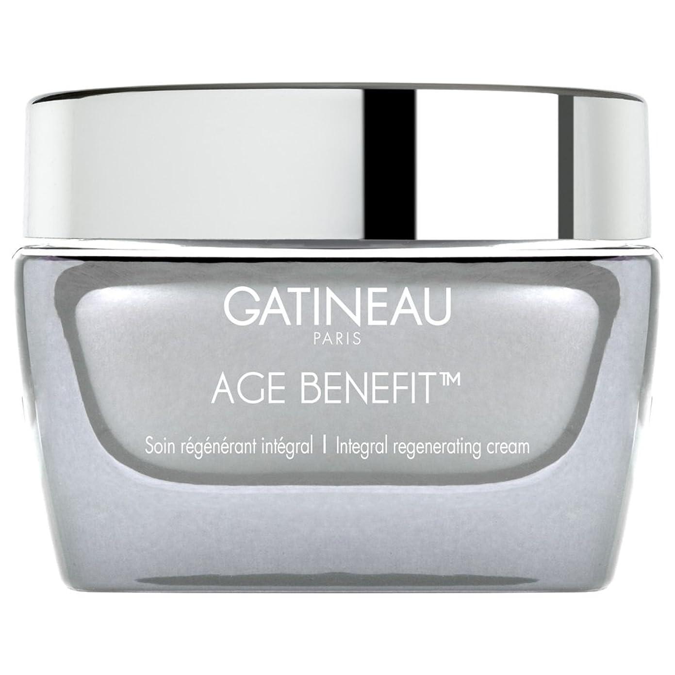 項目証明書ルネッサンスクリームを再生ガティノー年齢給付、50ミリリットル (Gatineau) (x6) - Gatineau Age Benefit Regenerating Cream, 50ml (Pack of 6) [並行輸入品]