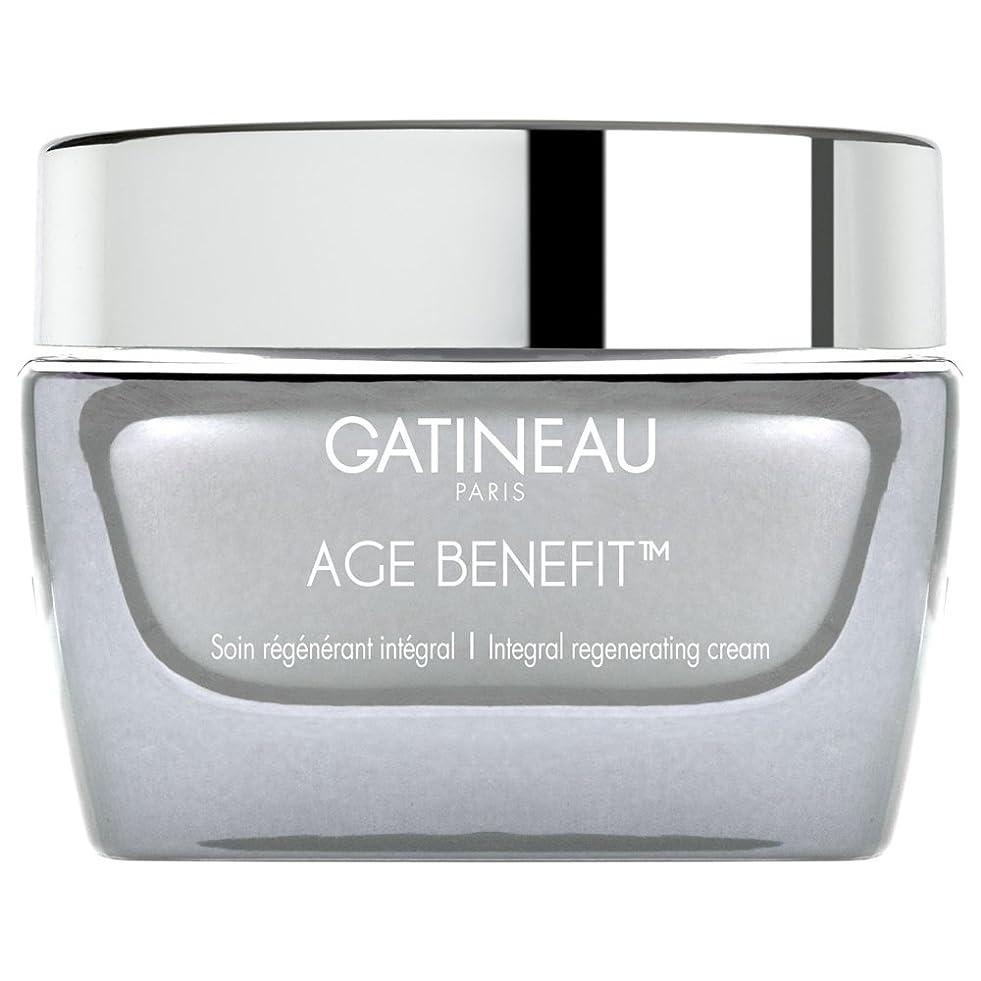 振りかける再現するソブリケットクリームを再生ガティノー年齢給付、50ミリリットル (Gatineau) (x6) - Gatineau Age Benefit Regenerating Cream, 50ml (Pack of 6) [並行輸入品]