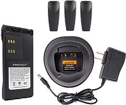 HNN9013 Battery and Charger for Motorola HT750 HT1250 PR860 EX500 MTX950 HT1250.LS PRO5150 PRO7150 JMNN4023 JMNN4024 WPLN4107 MDHTN3001