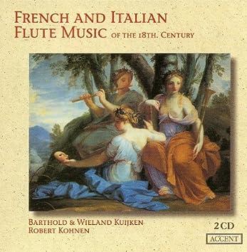 Flute Music (French and Italian 18Th Century) - Monteclair, M.P. / Blavet, M. / Guignon, J.-P. / Boismortier, J.B. / Leclair, J.-M.