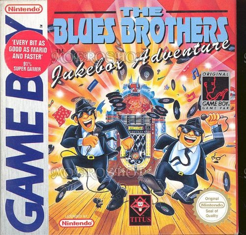 The Blues brothers jukebox adventure - Game Boy - PAL