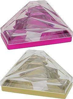 Beaupretty Wimper Geval Organisatoren En Opslag Diamant Vormige Acryl Wimper Lade Houder Make Storage Containers Wimper La...