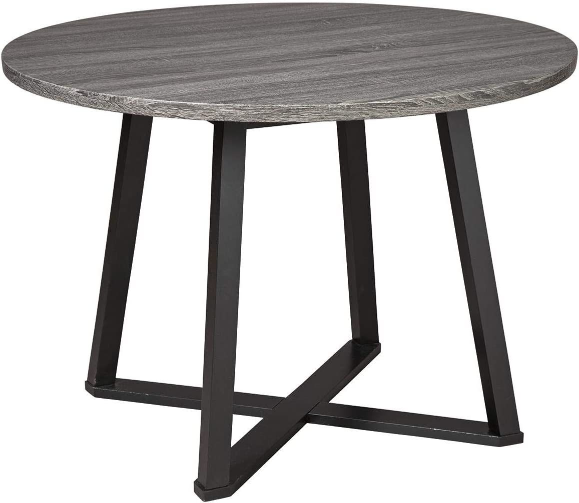 San Diego Mall Signature Design by Ashley Centiar Room Mid Round Max 63% OFF Century Dining