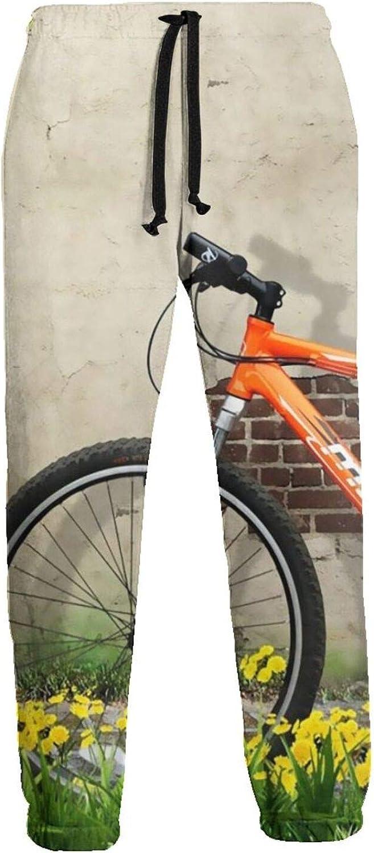 Nature Flowers Tree Wall Grass safety Bike Husband My A Mens Sweatpants Finally resale start