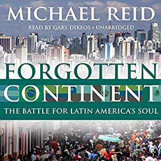 Forgotten Continent audiobook cover art