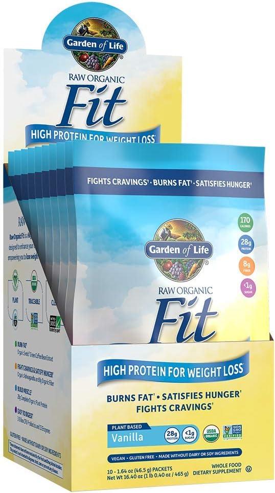 Garden of Life Raw Organic Fit Cheap Protein High - fo Vanilla Powder service