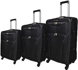 New Travel Luggage Trolley Bag for Unisex, Black