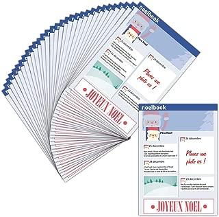 Tarjeta de Navidad personalizable (tarjeta personalizada) – 32 tarjetas – Tarjeta personalizable de Papá Noel – Dispo en 3 formatos Carte pliée - 14 cm x 19,5 cm