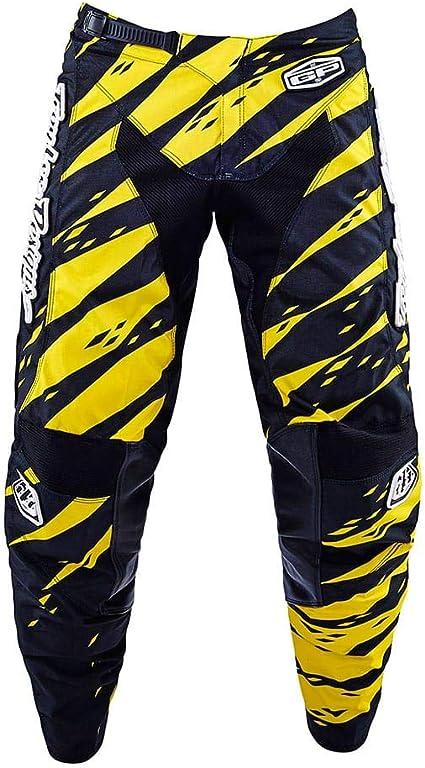 Troy Lee Designs Gp Vert Cross Trousers Yellow Black Bekleidung