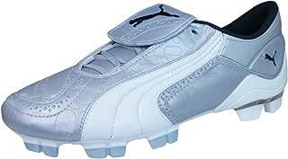 PUMA V Konstrukt II GCi FG Womens Leather Football Boots/Cleats - Silver