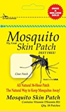 AgraCo Mosquito Skin Patch Body Absorbs 36-Hour All Natural Mosquito Deterrent. Deet-Free Made in The USA Family Travel 10 Individual