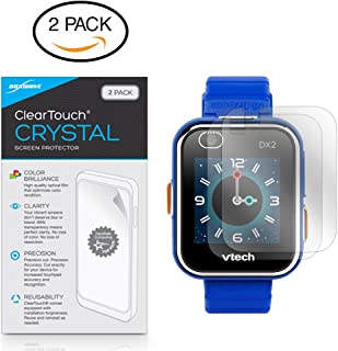 VTech Kidizoom DX2 Screen Protector, BoxWave® [ClearTouch Crystal (2-Pack)] HD Film Skin - Shields from Scratches for VTech Kidizoom DX2