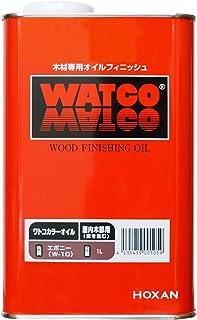 ワトコオイル エボニー W-10 1L