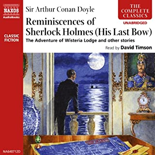 The Reminiscences of Sherlock Holmes cover art