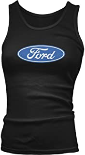 Junior's Ford Logo, Ford Emblem, Officially Licensed Tank Top