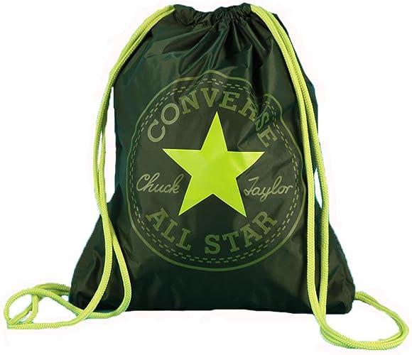 Converse accessori Sacca zaino shoebag verde borsa 6FA045S ...