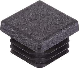 16 stuks - vele maten beschikbaar - vierkante buis geribbelde inzetstukken eindkappen stoppennen pluggen voor tafelstoel e...