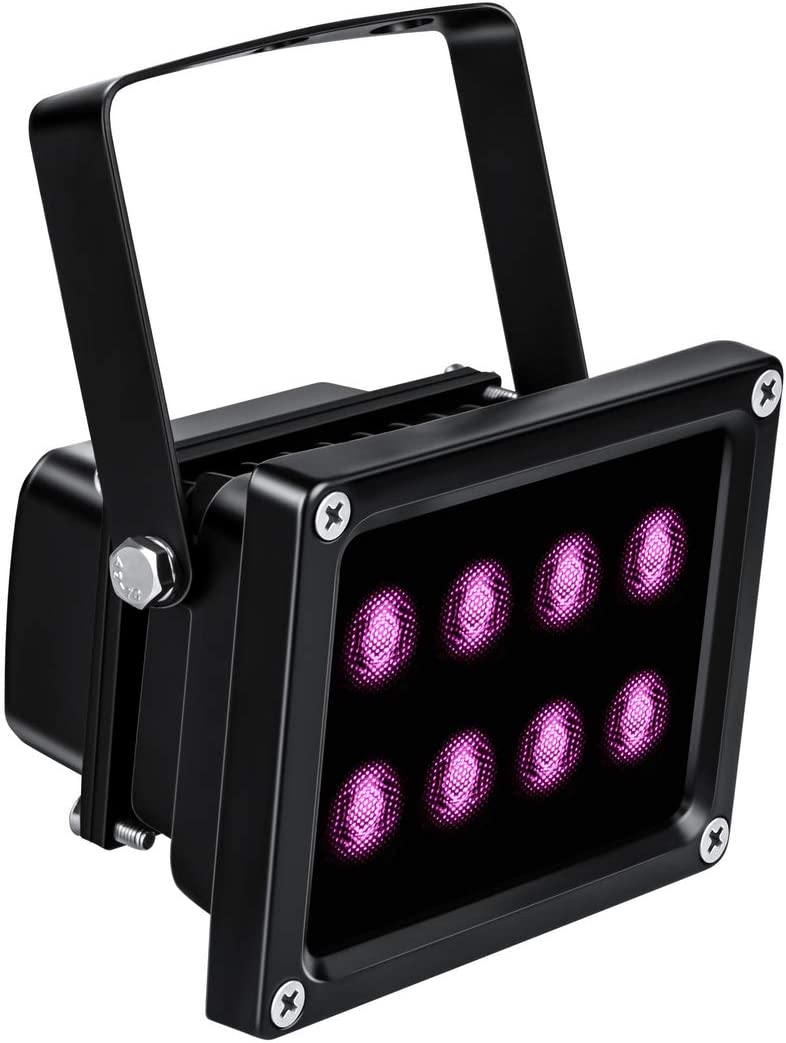 Tendelux 120ft IR Illuminator | 8-LED 90° Wide Angle Infrared Flood Light for Security Camera (No Power Adapter)