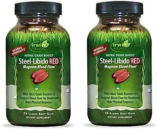 Irwin Naturals Steel Libido Red - 75 Softgels ( Multi-Pack)