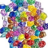 SoundZero 850pcs Gemme del Diamante Acrilico, Preziose Colorate Gemme del Diamante per Pietre Colorate per Vasi, Decorazioni Tavoli, Bomboniere, Decorazioni Acquario, Matrimoni, Arti e Fai-da-Te