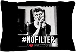 CafePress I Love Lucy #Nofilter Standard Size Pillow Case, 20