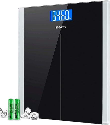 Bilancia Pesapersone Digitale, Etekcity Bilancia Elettronica con Sensori di Alta Precisione, LCD Schermo Retroillumin...