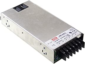 Mean Well HRP-450-24 Power Supply, Switching, PFC Enclosed, 451.2 Watt, 24 VDC, 18.8 A, 8.9 L x 4.1 W x 1.6 H, Silver