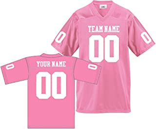 Amazon.com  Pink - Jerseys   Clothing  Sports   Outdoors 39bf2d673