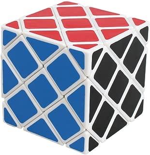 willking Master Square Puzzle Magic Cube Twisty Toy Gift Irregular Brain Tester White
