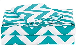 Best teal and white bed sheets Reviews