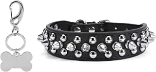 Mogoko Personalized Studded Leather engarved