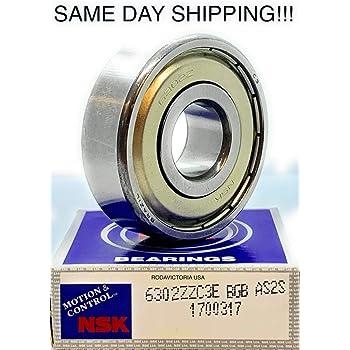 NSK 6303 ZZ Deep Groove Radial Ball Bearing 17x47x14mm