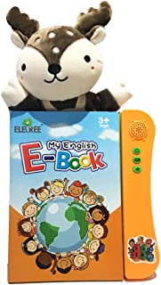 ABC Sound E Book for Children. English Letters & Words Learning Book, Fun Educational Toys. Activities With Numbers, Shape...