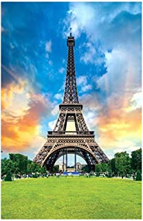 Sallymonday Jigsaw Puzzles 1000 Pieces for Kids Adult - Famous Building Eiffel Tower, Puzzle Intellective Educational Toy