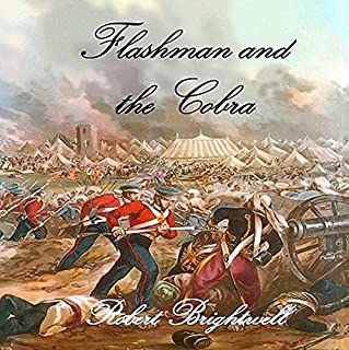 Flashman and the Cobra audiobook cover art