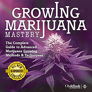 Marijuana Growing: Mastery audiobook cover art
