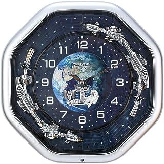 30 Hi-Fi Melodies in Motion Spacewalk Wall Clock 15×15×4In