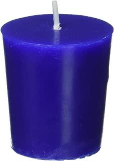 Zest Candle 12-Piece Votive Candles, Blue