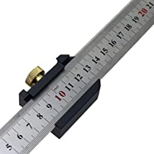 Edelstahl Lineal 30 cm,Anreißlineal Edelstahl,Streichmaß Anschlaglineal,Anreisswerkzeug Streichmass,Streichmaß Metall mit Anschlag,Anreisswerkzeug Winkel,Streichmaß Anschlag